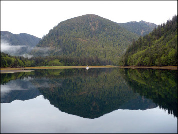 Fishing charter boats in northern BC